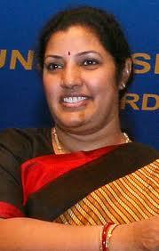 Union minister of Daggubati Purandeswari