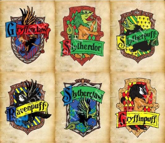 Los Mil Libros Casas Híbridas De Harry Potter