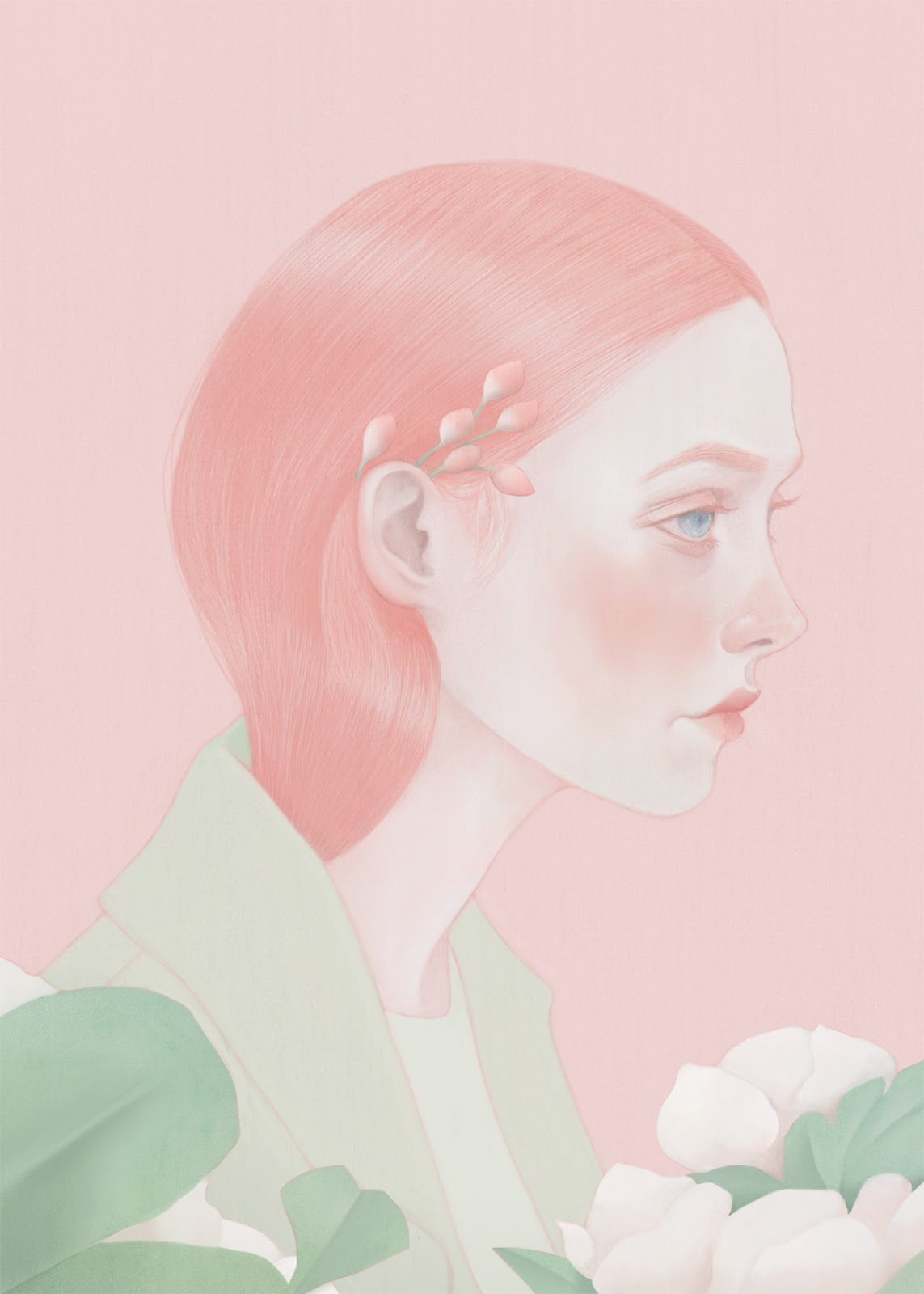 ©Hsiao-Ron Cheng - Selected Portraits. Ilustración | Illustration