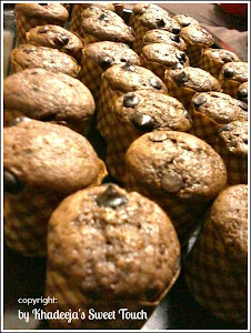Chocolate Chips Muffin / Muffin Coklat Chips ~ Size Xs