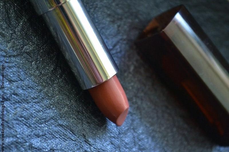 maybelline mahagony lipstick 255