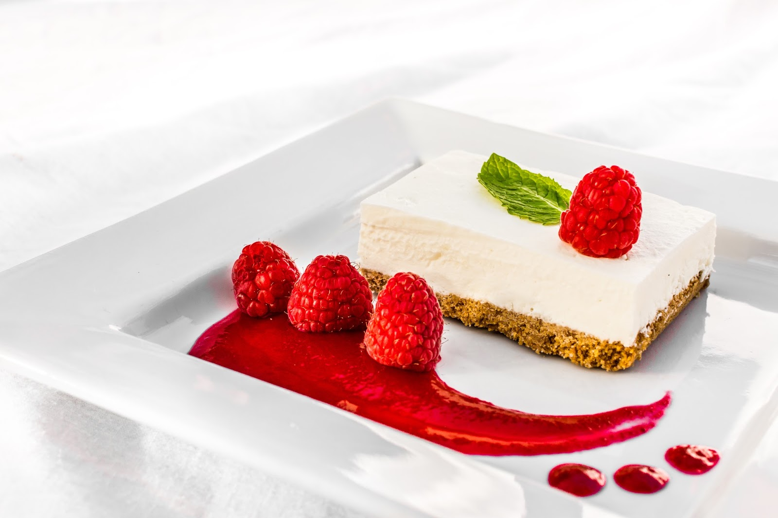 All Food Considered: Vanilla Bean White Chocolate Mousse Cheesecake