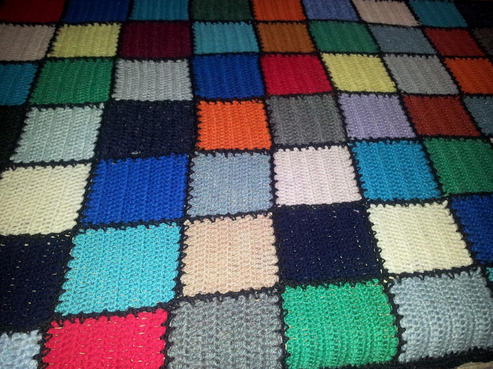 Leo y mjs labores manta ganchillo cuadrados - Mantas ganchillo colores ...