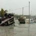 """Deja huracán """"Bárbara"""" dos muertos en Oaxaca y graves daños"""