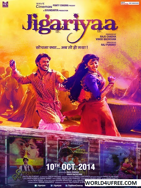 Jigariyaa 2014 Hindi 720p HDRip 1GB Bollywood movie hindi movie Jigariyaa movie dvd rip web rip hdrip 700mb free download or watch online at world4ufree.be