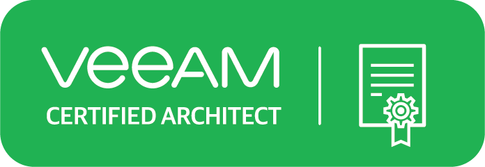 Veeam Certified  Architect (VMCA)