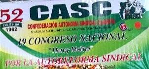 Confederación Autónoma Sindical Clasista (CASC)
