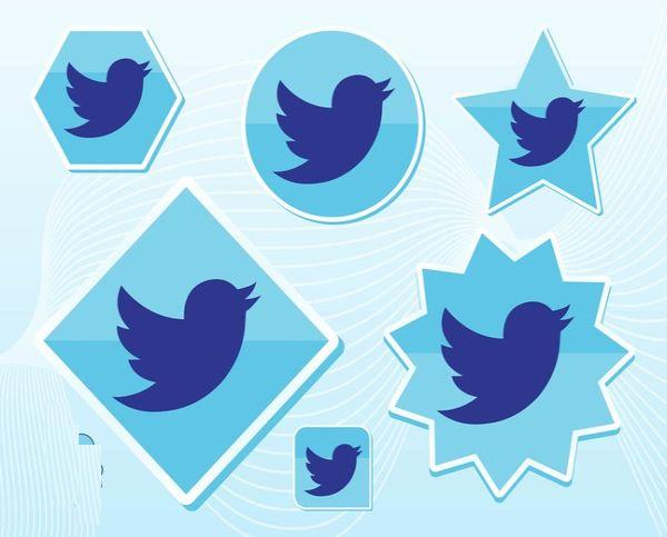 Free New Twitter Bird Vector Art