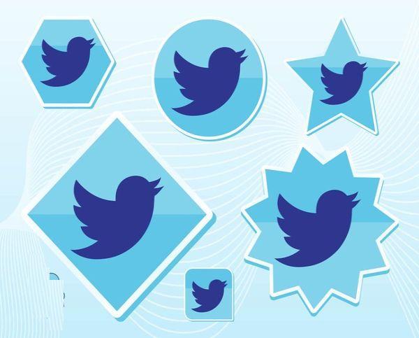 Free New Twitter Bird Vector Art