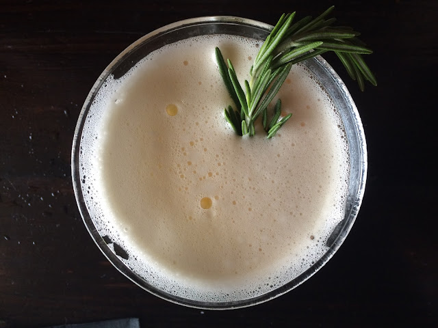 The Romera Fresca: Juniper-Infused Tequila,  Small Batch Tonic, and House Made Rosemary Syrup