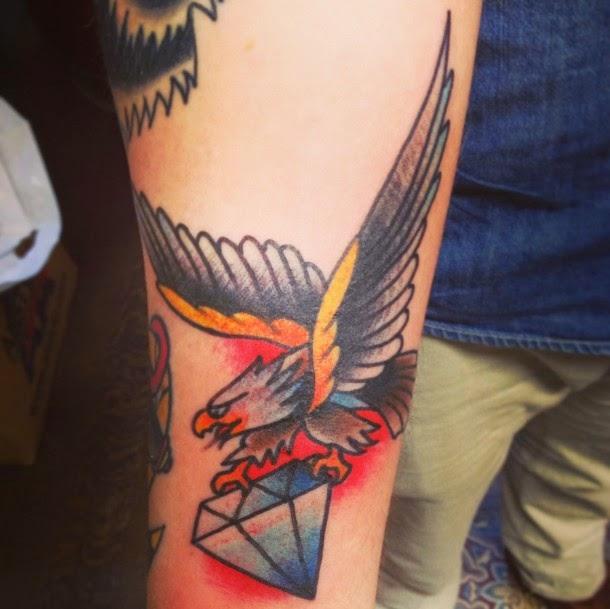 Diamond Tattoo On Arm