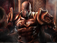 papel de parede god of war