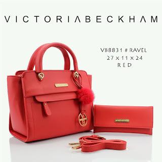 Tas KW Victoria Beckham Ravelia Semi Premium 8831MV Jakarta