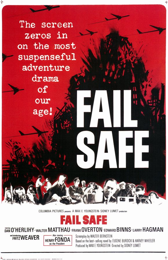 a review of fail safe a movie by sidney lumet Home review fail-safe (1964 of the same topic in fail-safe fail-safe follows multiple perspectives of fonda, movie review, sidney lumet, walter.