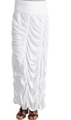 white Peasant skirt