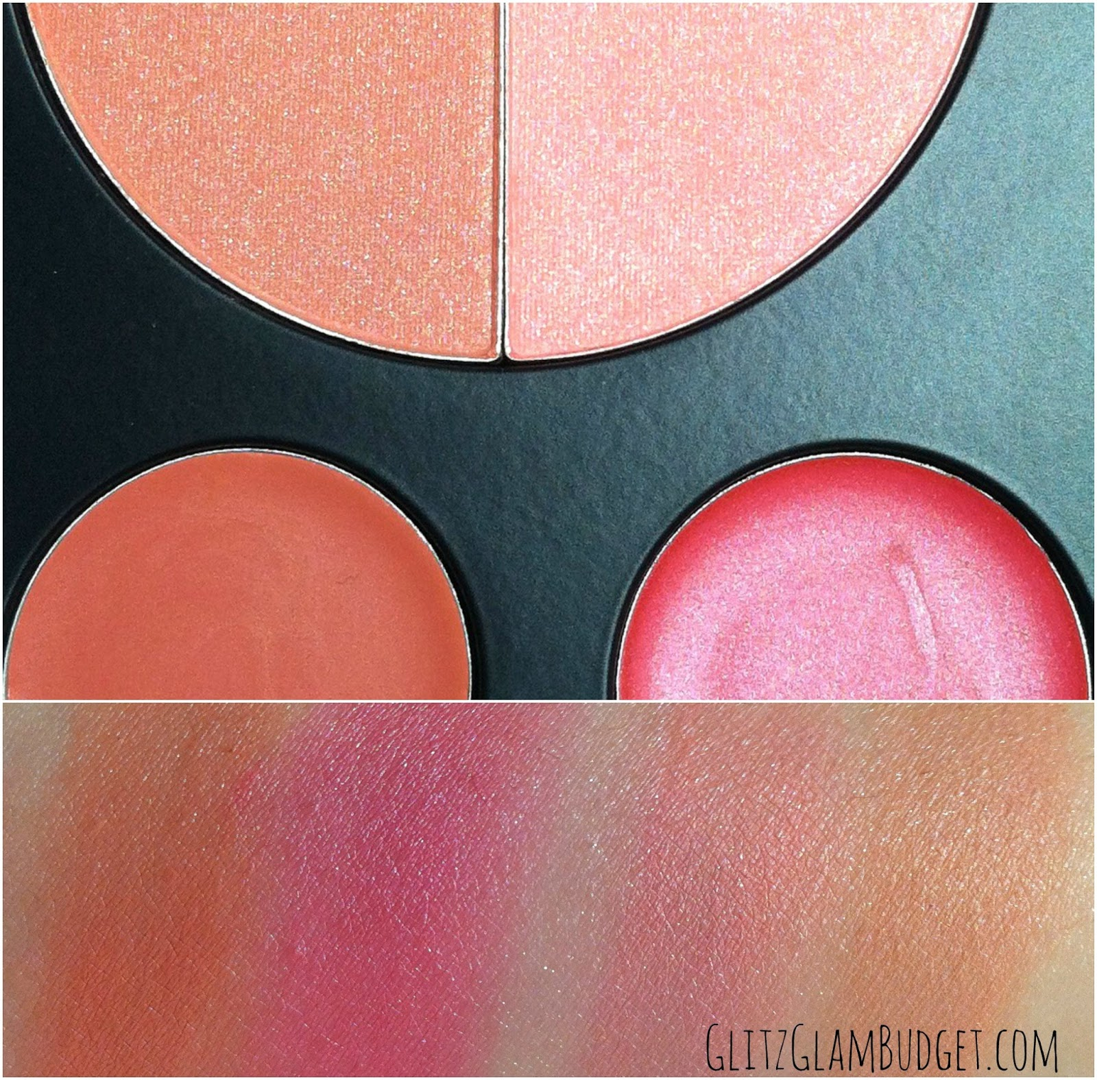 BH Cosmetics Forever Nude Makeup Palette Swatches
