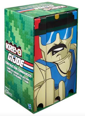 San Diego Comic-Con 2015 Exclusive G.I. Joe Sgt. Slaughter Kre-O Box Set by Hasbro