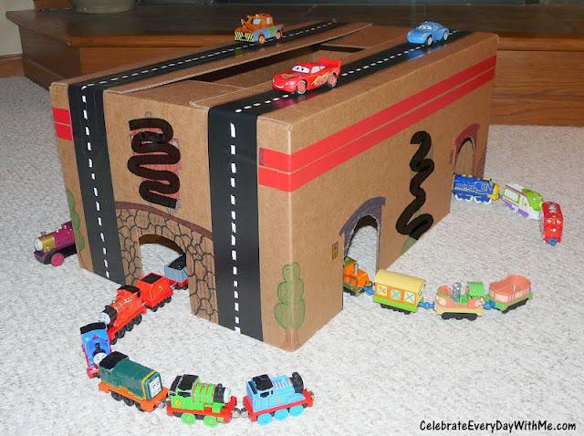 Train-Loving, Car-Racing Kid Project