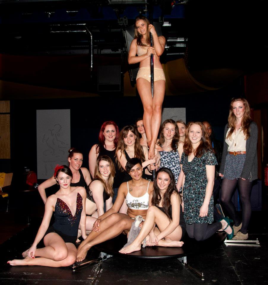 Pornstar Brunette bar strip university