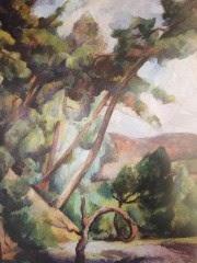 Diego Rivera, Paysage du Midi, 1918