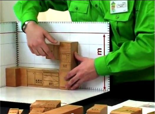 Como hacer mueble de cocina melamina 1 h galo usted for Como fabricar muebles de cocina