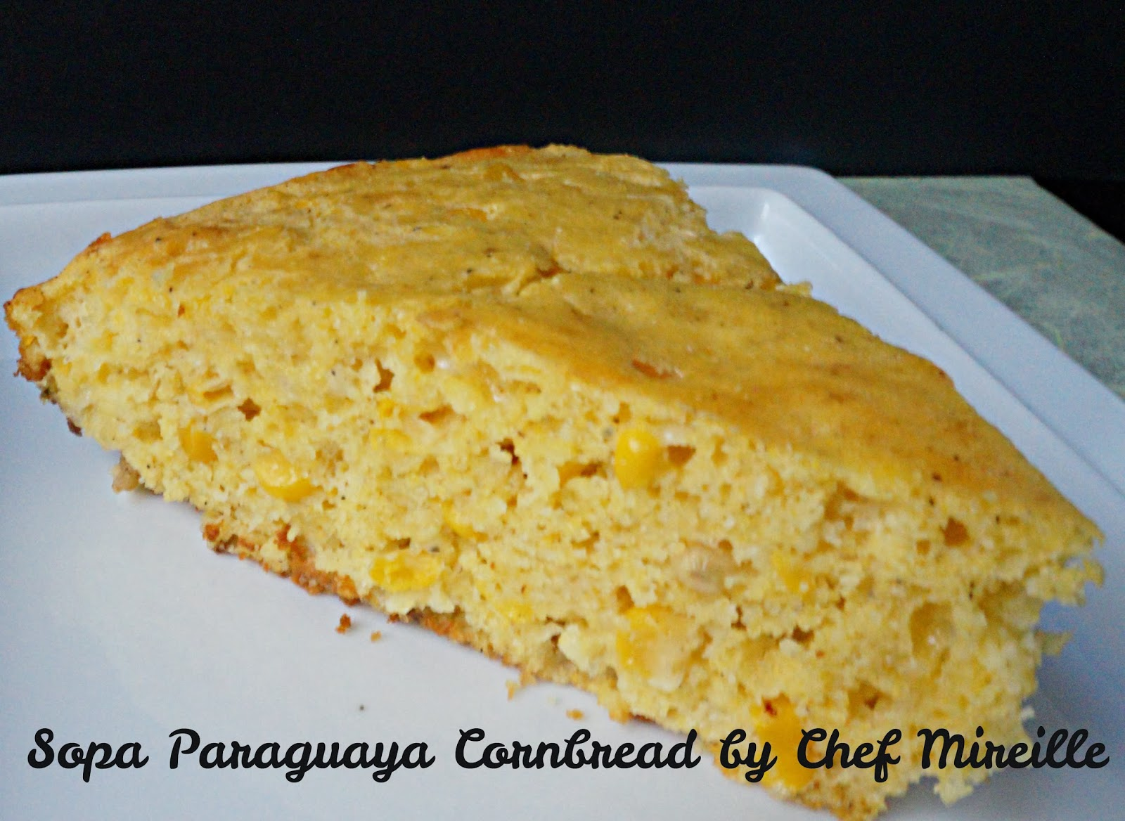 sopa paraguaya cornbread