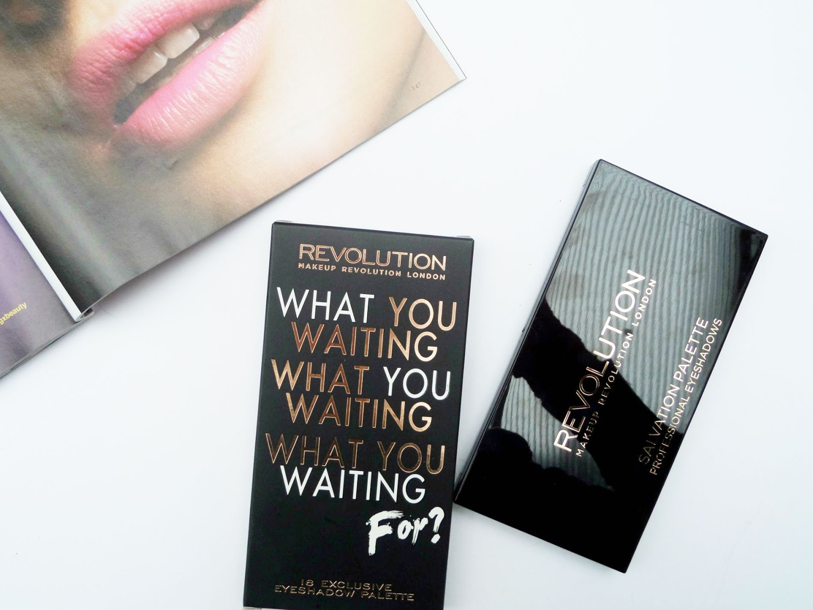 The Makeup Revolution Salvation 'What you waiting for' Eyeshadow Palette Review