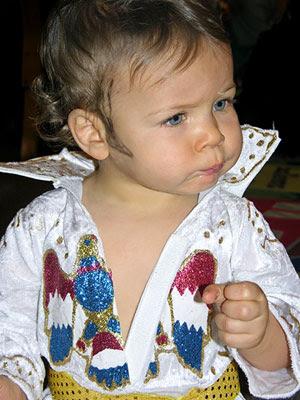 Disfraz de Elvis Presley para niños