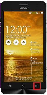 Cara Screenshot Di HP Asus Zenfone