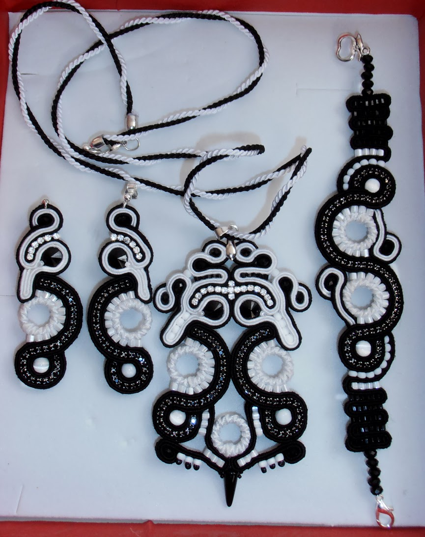 JEWELLERY SOUTACHE GIFT FOR  SISTER