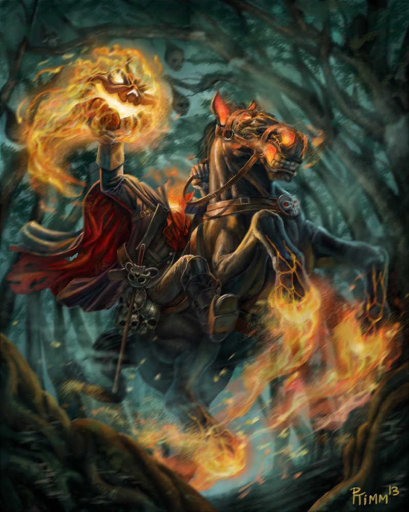 Bloody pit of rod headless horseman art - Pictures of the headless horseman ...