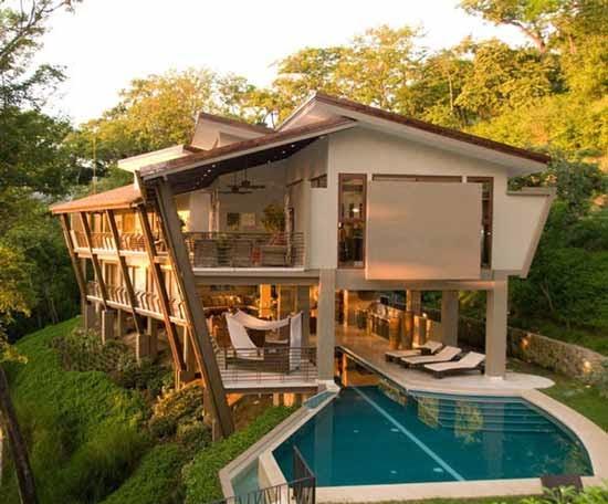 Modern Luxury Villa Design Ideas Beautiful and Comfortable