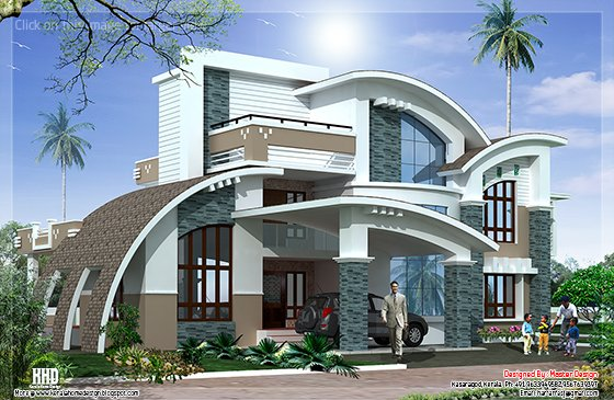 Modern mix luxury house