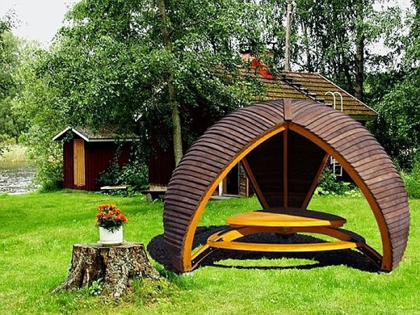 Baltic Gardens Add a luxury gazebo to give life to your garden
