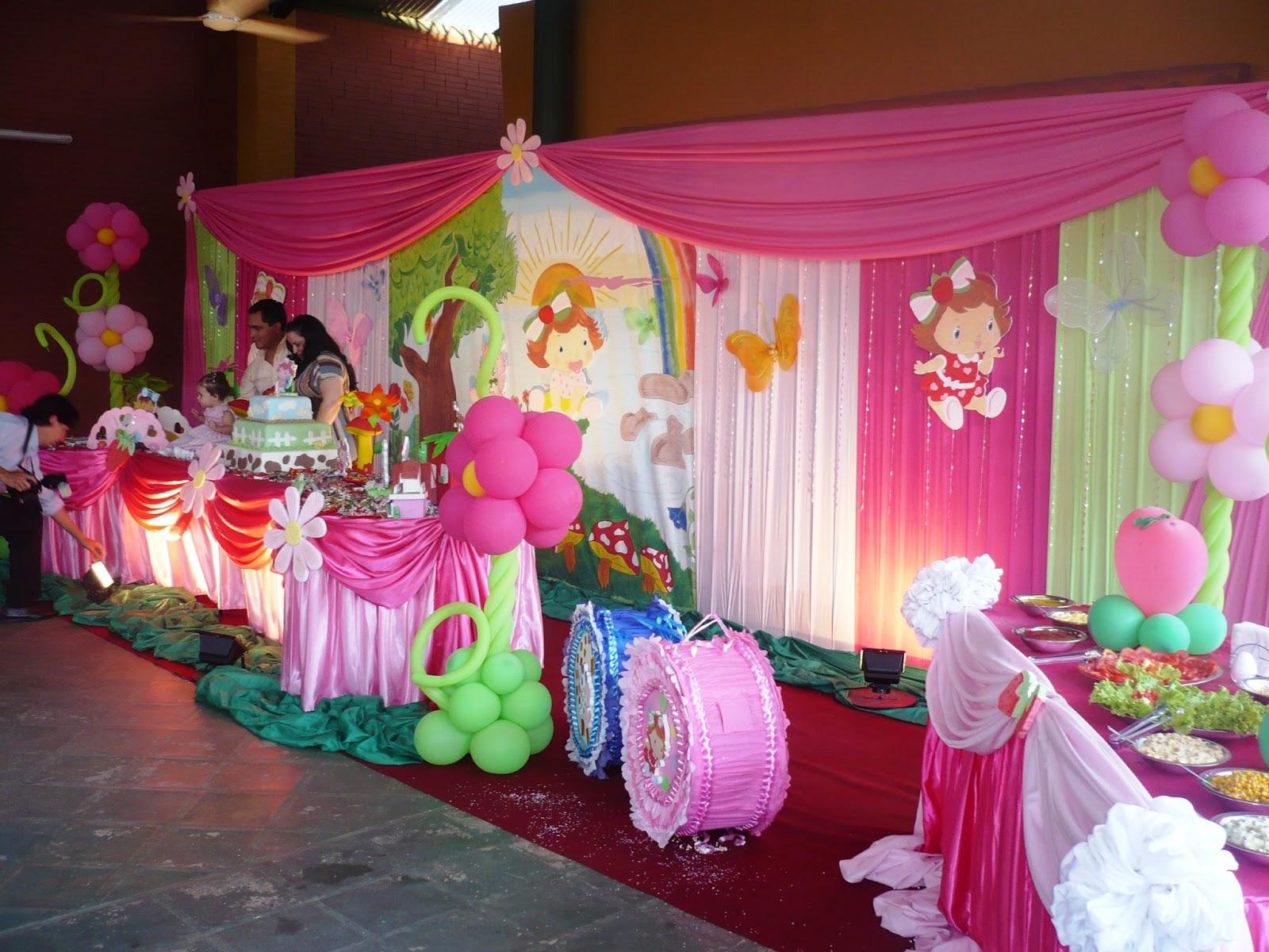 Fiesta frutillita decoración - Imagui