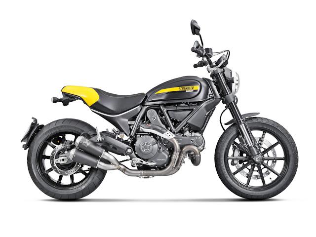 Akrapovič exhaust for Ducati Scrambler
