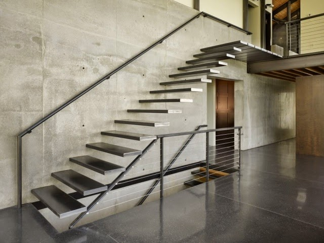 floating metal stairs designs,modern staircase design