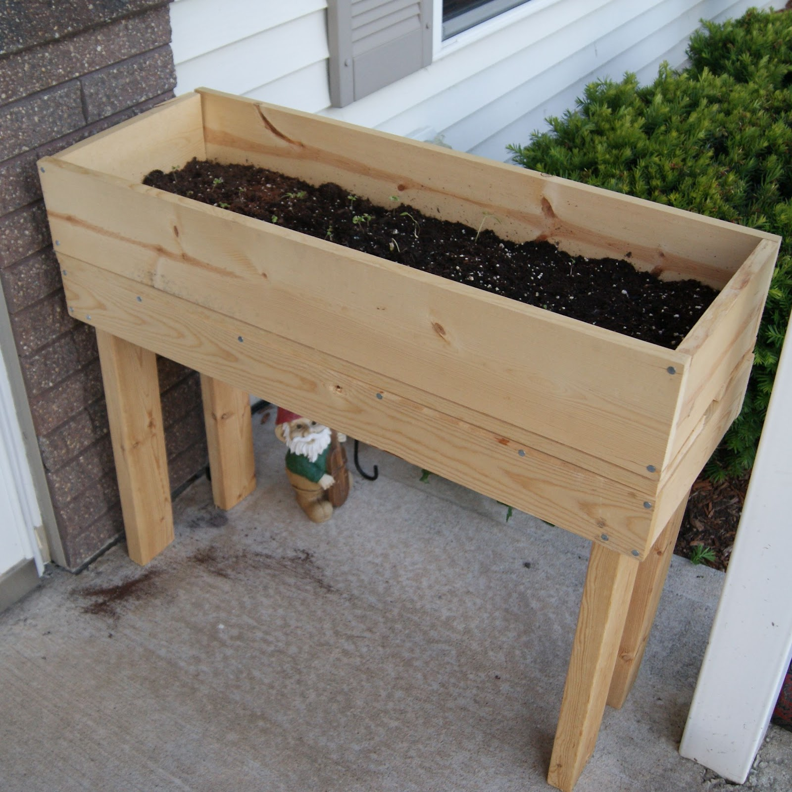 How to make wooden planter boxes pdf woodworking for Garden planter plans