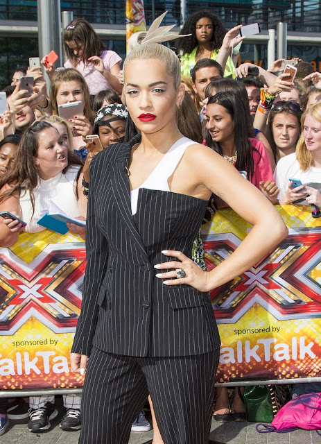 Actress, Singer @ Rita Ora At X Factor Audition In London