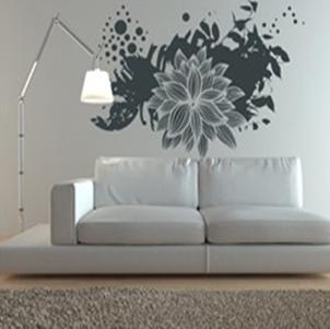 vinilo decorativo gris pintura y madera
