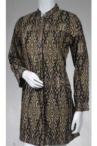 Batik Kasato 603 - Hitam (Toko Jilbab dan Busana Muslimah Terbaru)