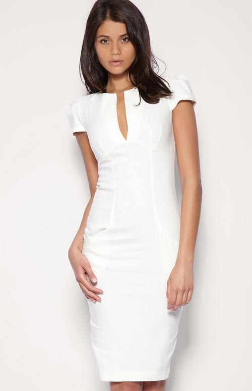 Cool This Years Summer Dresses Consist Of Detailed Back White Dresses