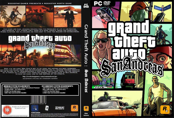 grand theft auto san andreas pc portada