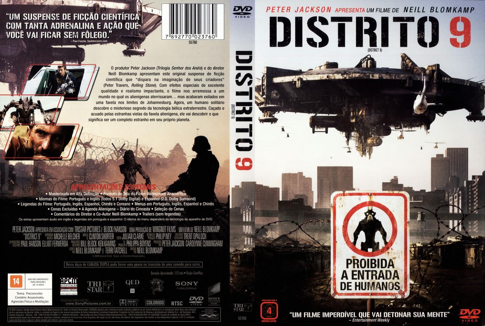 Torrent - Distrito 9 Blu-ray rip 720p e 1080p Dual Áudio 5.1 (2009)