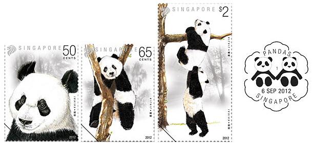 Pandas - Stamps