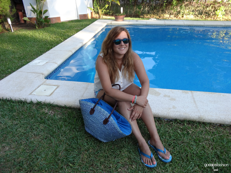 look en la piscina pool look olga gigirey