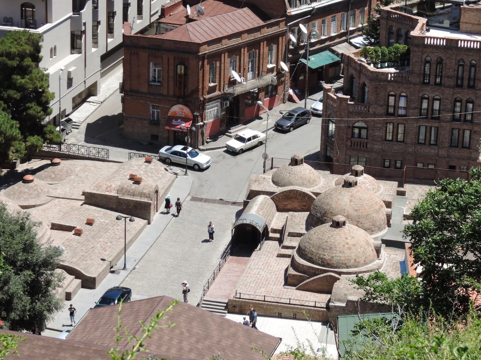 Тбилиси серные бани