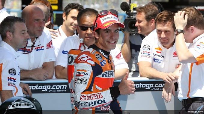Kualifikasi Jerez 2014, Marc Sabet Pole Ke empat