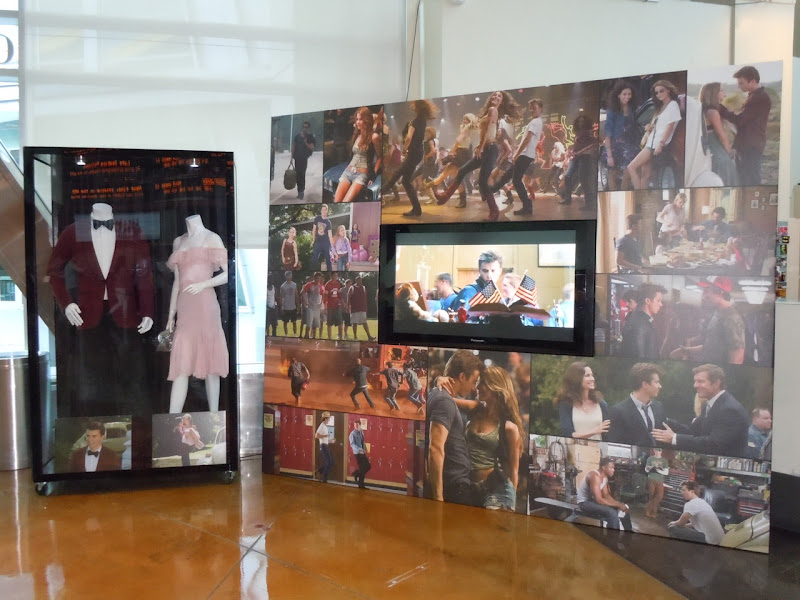 Footloose remake costume display