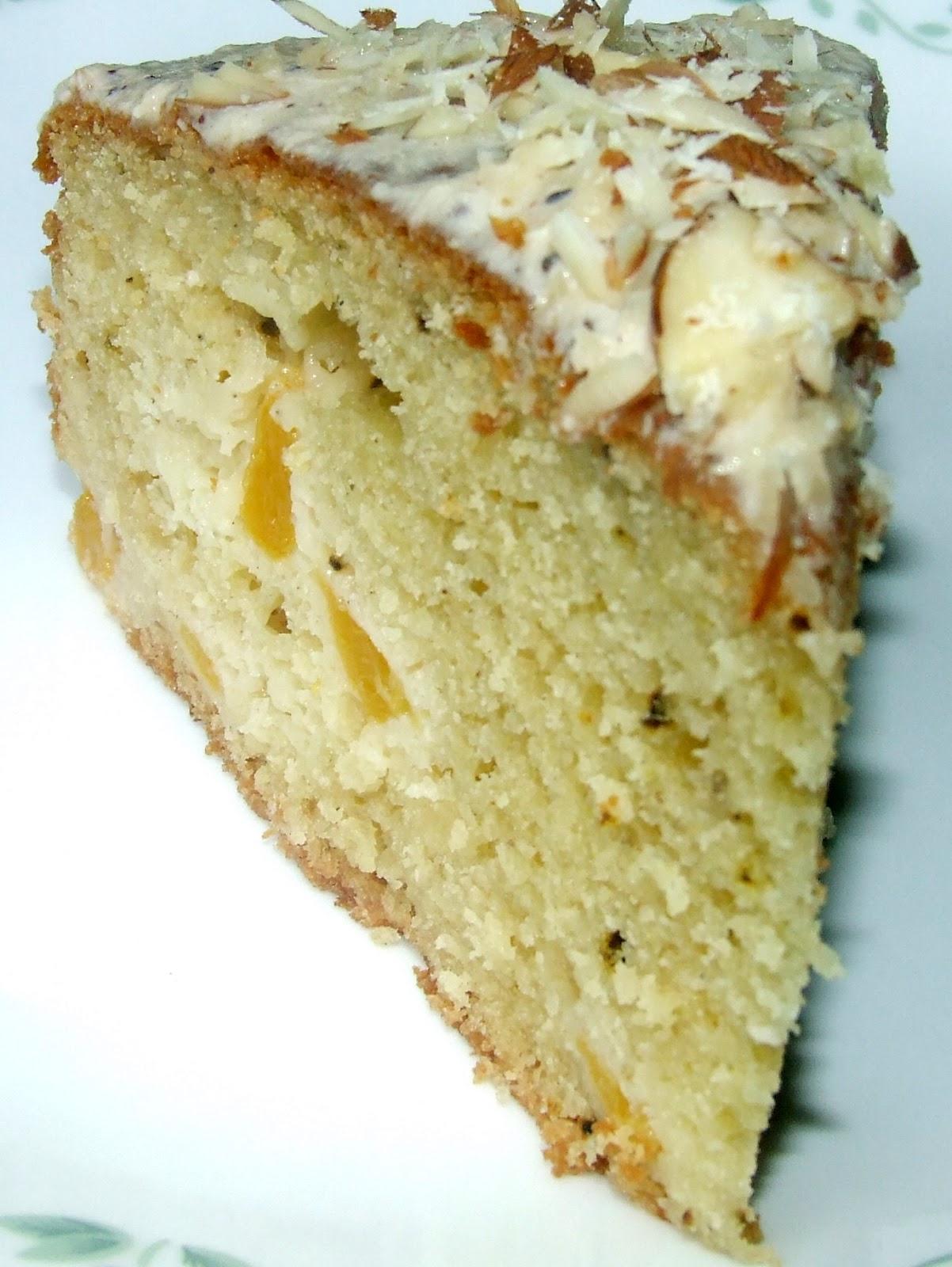 AMBROSIA: Peach Yogurt Cake With Cinnamon Glaze